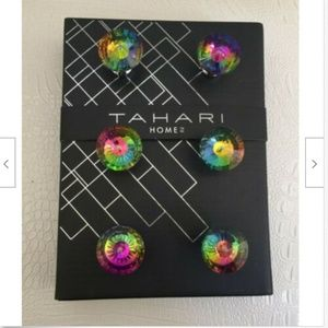 TAHARI HOME Set of 6 DRAWER KNOBS